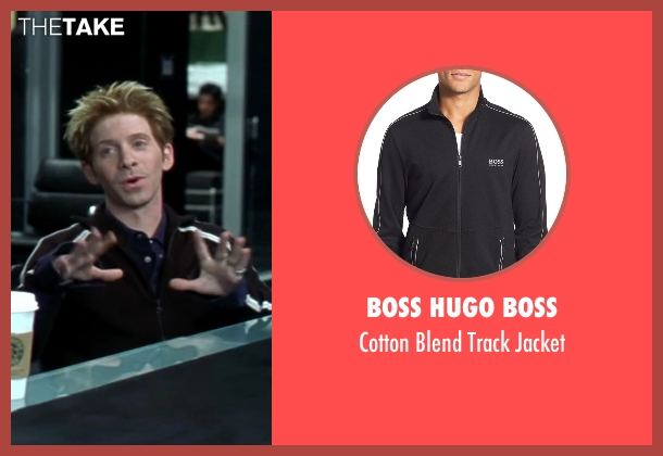 Boss Hugo Boss black jacket from Austin Powers in Goldmember seen with Seth Green (Scott Evil)