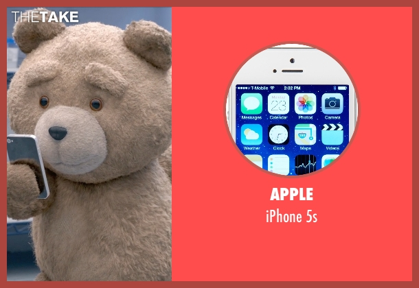 Apple 5s from Ted 2 seen with Seth MacFarlane (Ted (voice))