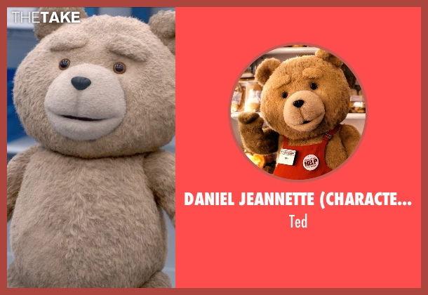Daniel Jeannette (Character Design Concept) ted from Ted 2 seen with Seth MacFarlane (Ted (voice))