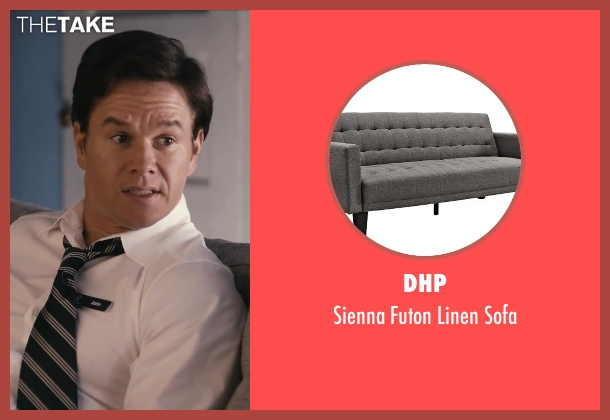 DHP sofa from Ted seen with Seth MacFarlane (Ted (voice))