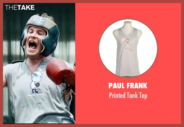 Paul Frank gray top from Knocked Up seen with Seth Rogen (Ben Stone)