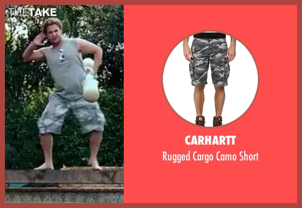 Carhartt short from Knocked Up seen with Seth Rogen (Ben Stone)