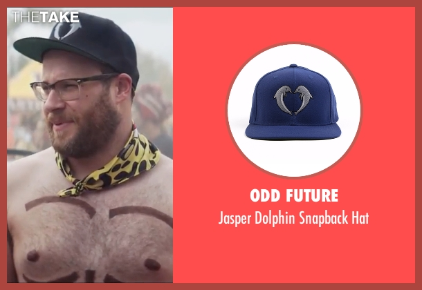 Odd Future blue hat from Neighbors 2: Sorority Rising seen with Seth Rogen (Mac Radner)
