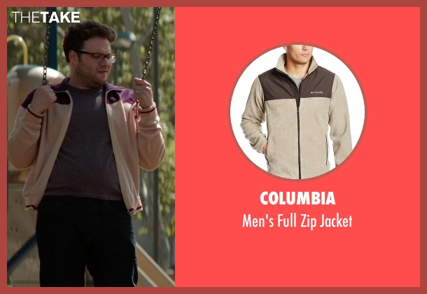 Columbia beige jacket from Neighbors seen with Seth Rogen (Mac Radner)