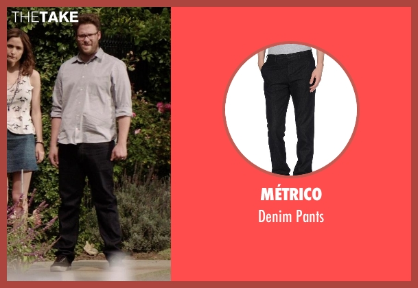 Métrico black pants from Neighbors seen with Seth Rogen (Mac Radner)