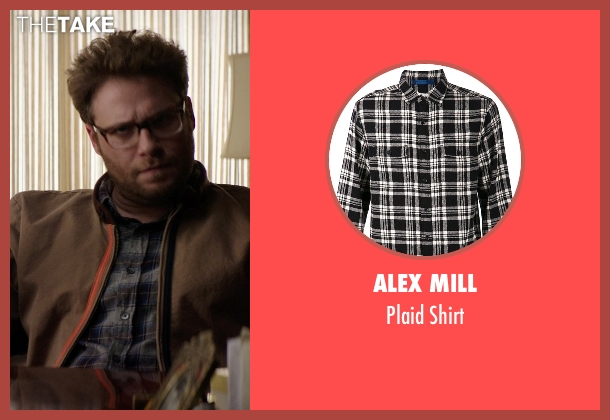 Alex Mill black shirt from Neighbors seen with Seth Rogen (Mac Radner)