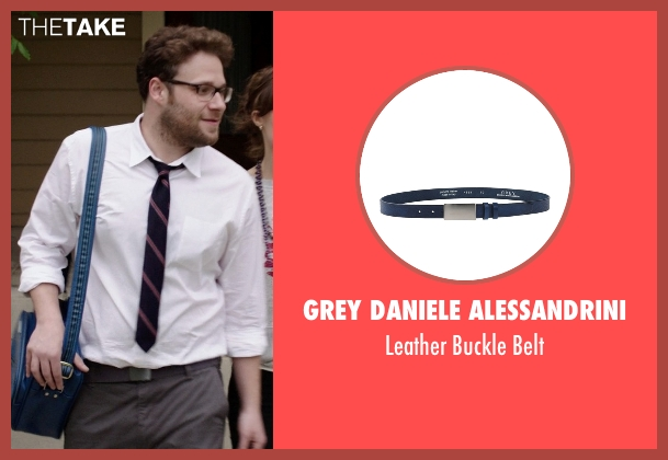 Grey Daniele Alessandrini blue belt from Neighbors seen with Seth Rogen (Mac Radner)