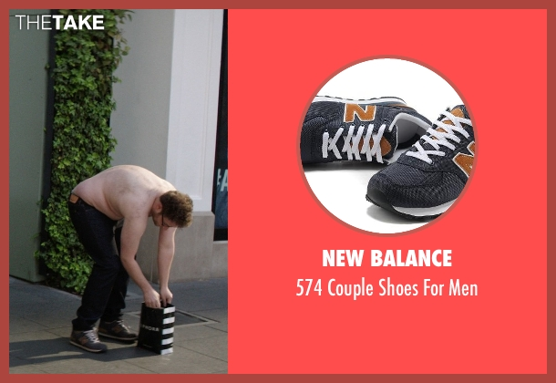 New Balance blue men from Neighbors seen with Seth Rogen (Mac Radner)