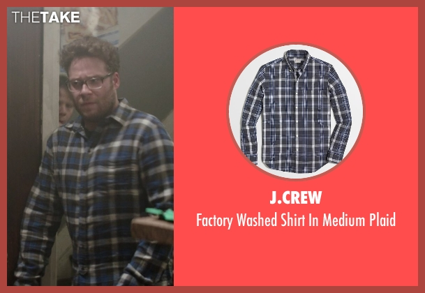 J.Crew blue plaid from Neighbors seen with Seth Rogen (Mac Radner)