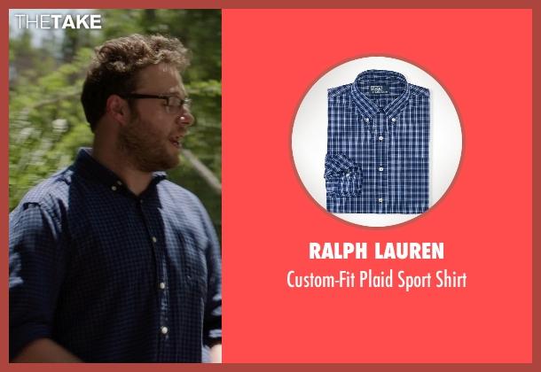 Ralph Lauren blue shirt from Neighbors seen with Seth Rogen (Mac Radner)