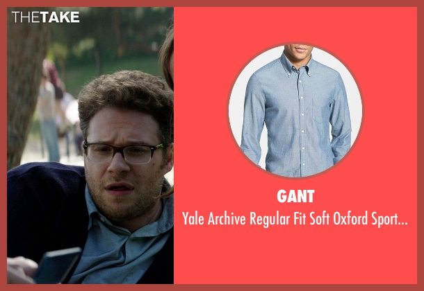 Gant blue shirt from Neighbors seen with Seth Rogen (Mac Radner)