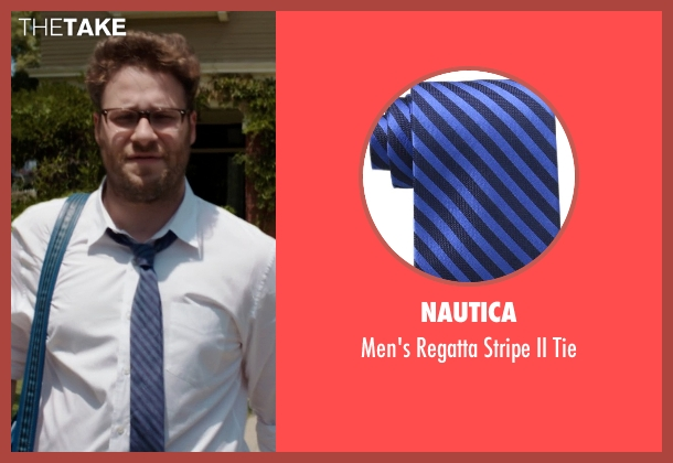 Nautica blue tie from Neighbors seen with Seth Rogen (Mac Radner)