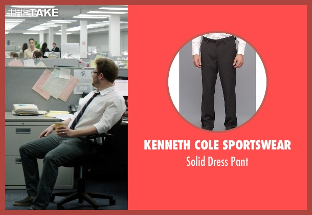 Kenneth Cole Sportswear gray pant from Neighbors seen with Seth Rogen (Mac Radner)