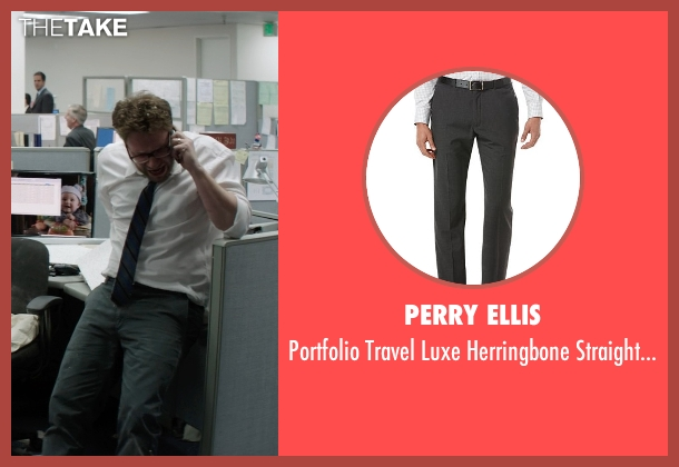 Perry Ellis gray pants from Neighbors seen with Seth Rogen (Mac Radner)