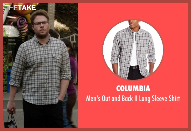 Columbia gray shirt from Neighbors seen with Seth Rogen (Mac Radner)