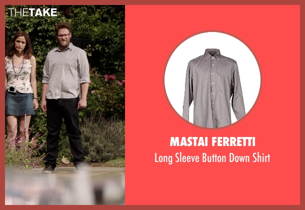 Mastai Ferretti gray shirt from Neighbors seen with Seth Rogen (Mac Radner)