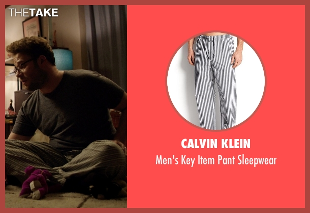 Calvin Klein gray sleepwear from Neighbors seen with Seth Rogen (Mac Radner)