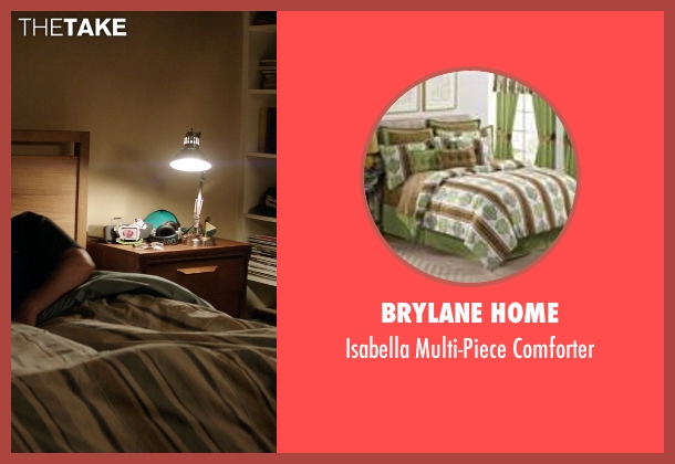 Brylane Home green comforter from Neighbors seen with Seth Rogen (Mac Radner)