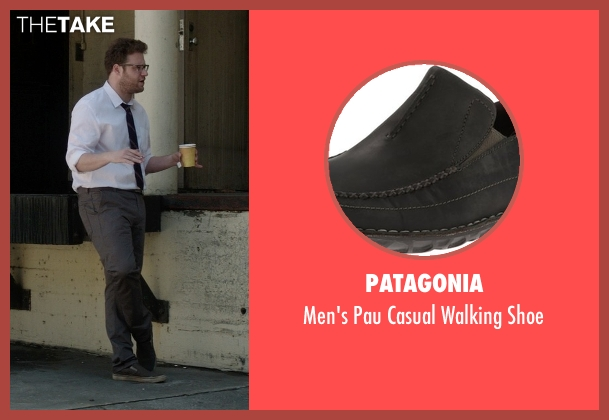 Patagonia green shoe from Neighbors seen with Seth Rogen (Mac Radner)