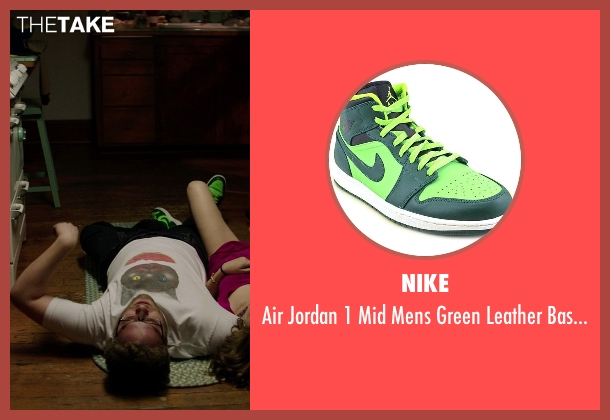Nike green shoes from Neighbors seen with Seth Rogen (Mac Radner)