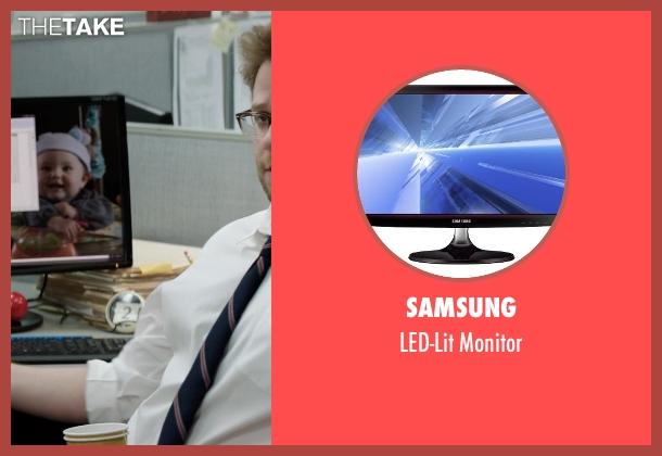 Samsung monitor from Neighbors seen with Seth Rogen (Mac Radner)