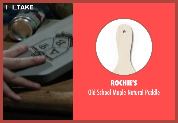 Rochie's paddle from Neighbors seen with Seth Rogen (Mac Radner)