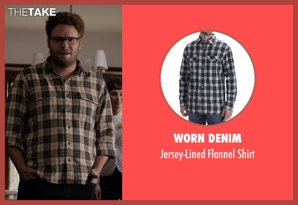 Worn Denim shirt from Neighbors seen with Seth Rogen (Mac Radner)