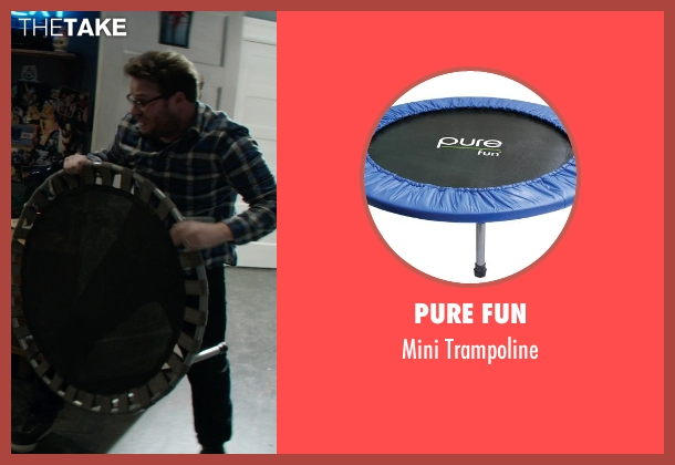 Pure Fun trampoline from Neighbors seen with Seth Rogen (Mac Radner)
