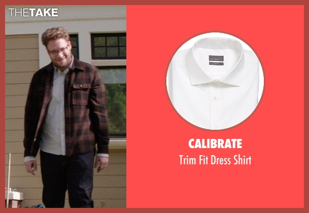 Calibrate white shirt from Neighbors seen with Seth Rogen (Mac Radner)