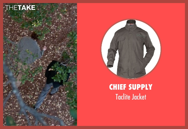 Chief Supply gray jacket from Steve Jobs seen with Seth Rogen (Steve Wozniak)