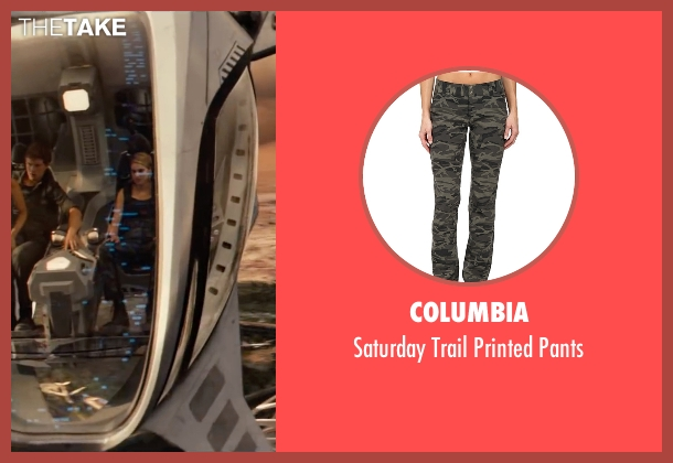 Columbia pants from The Divergent Series: Allegiant seen with Shailene Woodley (Beatrice 'Tris' Prior)