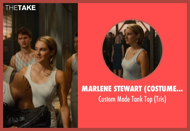 Marlene Stewart (Costume Designer) white top from The Divergent Series: Allegiant seen with Shailene Woodley (Beatrice 'Tris' Prior)