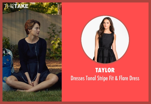 Taylor black dress from The Fault In Our Stars seen with Shailene Woodley (Hazel Grace Lancaster)
