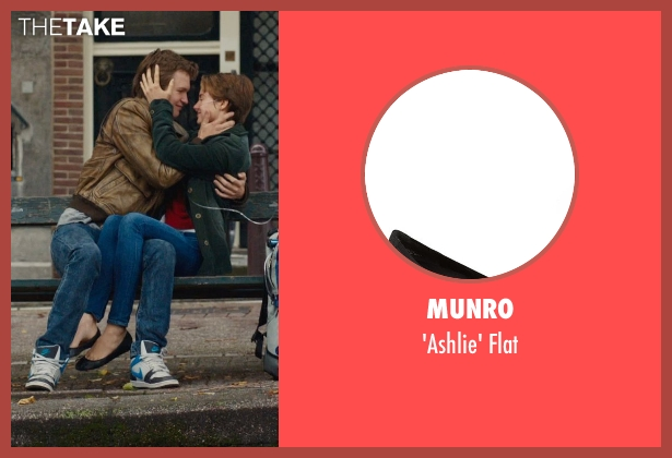 Munro black flat from The Fault In Our Stars seen with Shailene Woodley (Hazel Grace Lancaster)