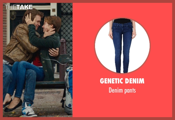 GENETIC DENIM blue pants from The Fault In Our Stars seen with Shailene Woodley (Hazel Grace Lancaster)