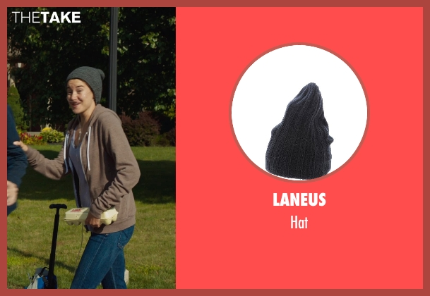 LANEUS gray hat from The Fault In Our Stars seen with Shailene Woodley (Hazel Grace Lancaster)
