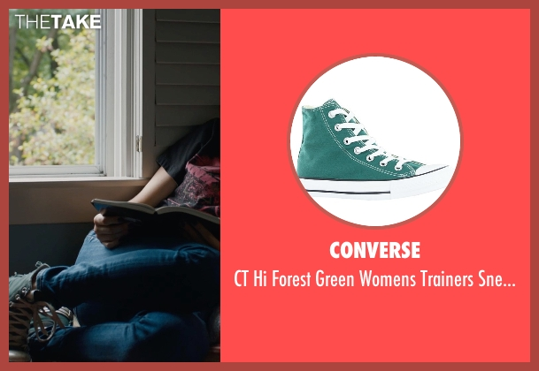 Converse green sneakers from The Fault In Our Stars seen with Shailene Woodley (Hazel Grace Lancaster)