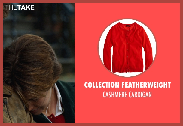 COLLECTION FEATHERWEIGHT red cardigan from The Fault In Our Stars seen with Shailene Woodley (Hazel Grace Lancaster)