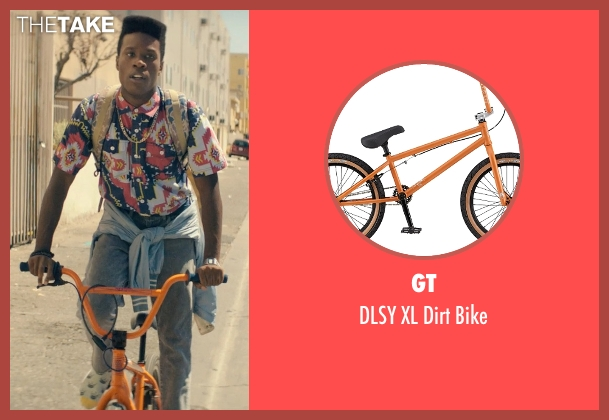 GT bike from Dope seen with Shameik Moore (Malcolm)