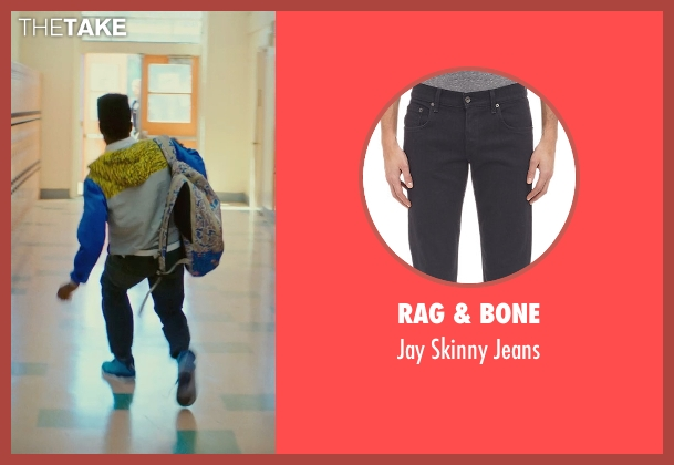Rag & Bone black jeans from Dope seen with Shameik Moore (Malcolm)