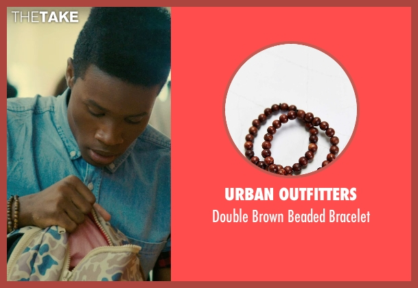 Urban Outfitters bracelet from Dope seen with Shameik Moore (Malcolm)