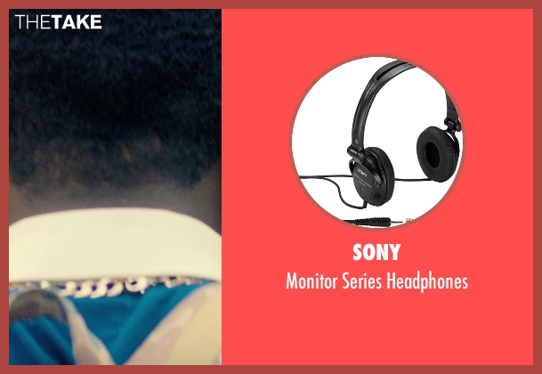Sony headphones from Dope seen with Shameik Moore (Malcolm)