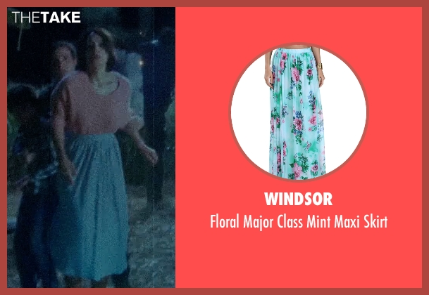Windsor blue skirt from Sinister 2 seen with Shannyn Sossamon (Courtney)
