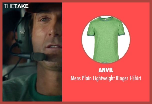 Anvil green t-shirt from The A-Team seen with Sharlto Copley (Murdock)