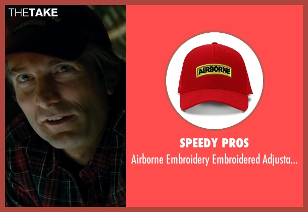 Speedy Pros red hat from The A-Team seen with Sharlto Copley (Murdock)