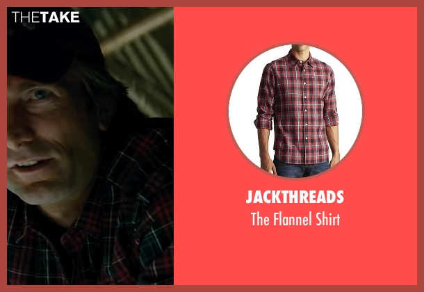 JackThreads red shirt from The A-Team seen with Sharlto Copley (Murdock)