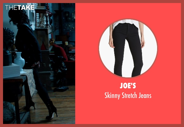 Joe's black jeans from Addicted seen with Sharon Leal (Zoe Reynard)