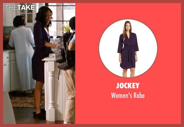Jockey purple robe from Addicted seen with Sharon Leal (Zoe Reynard)