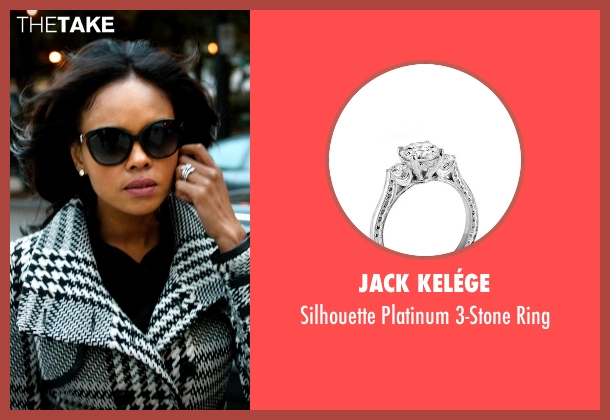 Jack Kelége silver ring from Addicted seen with Sharon Leal (Zoe Reynard)