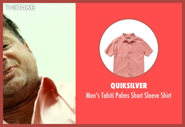 Quiksilver pink shirt from Savages seen with Shea Whigham (Chad)